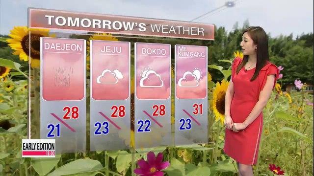 Monsoon rain forecast nationwide Thursday