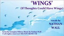 'WINGS (If Thoughts Could Have Wings)'  Indie-rock/ Pop-rock from Hilton Music UK