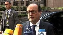 Déclaration du président de la République lors de son arrivée au Conseil européen