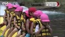 20140716塩原 子どもたち川遊びを満喫 栃木