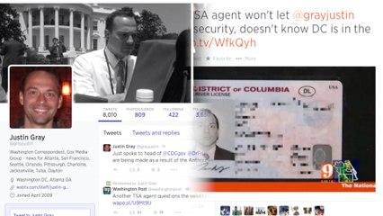 TSA Agent Has Never Heard of District of Columbia