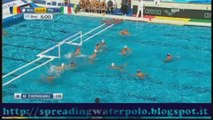 Pallanuoto, Budapest '14: bellissimo gol di Andrea Fondelli