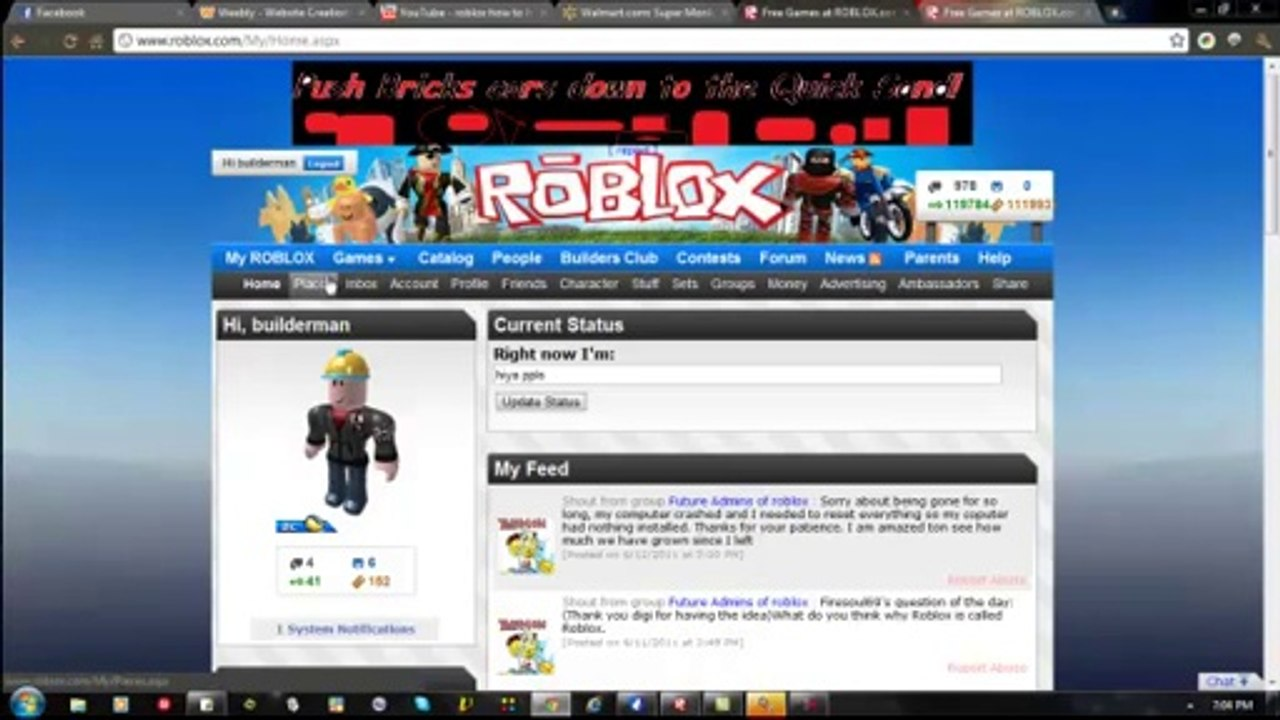 builderman login roblox HD   video Dailymotion