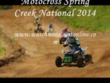 race of Motocross Spring Creek National