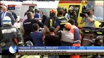 Cel mai grav accident din istoria metroului moscovit - cel puțin 20 de morți. Miercuri, zi de doliu