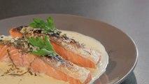 Recette du saumon grillé à l'oseille - Vie Pratique Gourmand