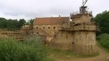 Guédelon, un château fort du moyen âge en construction