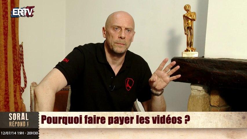 Pourquoi faire payer les vidéos d'Alain Soral ?
