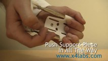 How to Change Support Pieces on Your X4 Labs Extender