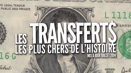 Top 11 des transferts les plus chers de l'histoire