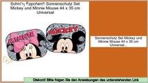einfache Anbringung mit Saugnapf Paar 36 x 45 cm Joy Toy 40012 Sonnenschutz f/ür Auto Disney Cars