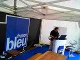 France Bleu Lorraine Live à Metz Plage, vendredi 15 août 2014.