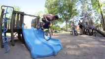HUGE BMX STREET JAM IN DENVER - BMX