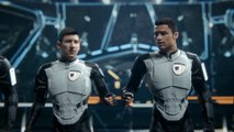 #GALAXY11_ The Match Part 2 Cristiano Ronaldo and Lionel Messi Save The World HD