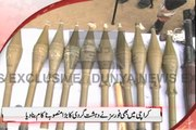 Dunya News - Heavy ammunition seized as Rangers foil terror plan in Karachi