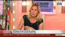 Tatiana Kastouéva-Jean et Benaouda Abdeddaïm, dans Le Grand Journal – 18/07 3/7