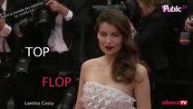 Exclu vidéo : La robe de la montée des marches de Laetitia Casta  : top ou flop ?
