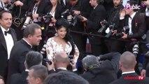 Exclu vidéo : Ayem : sublime pour monter les marches du Palais du festival de Cannes !
