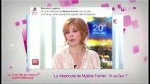 Public Zap : La mélancolie de Mylène Farmer au JT de Laurent Delahousse : In ou Out ?