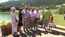Hautes-Alpes: Inauguration d'une baignade biologique à la Salle-les-Alpes