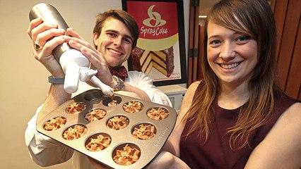 Harvard Students Give Aerosol Cake Batter, aka 'Spray Cake' To Humankind