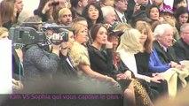 Exclu vidéo : Kim Kardashian  VS Sofia Essaïdi au défilé de Stéphane Rolland !