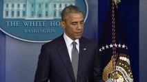Obama: le missile a été tiré depuis une zone rebelle