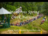 Watch Motocross Spring Creek National Live Online