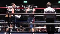 Watch Live Jennifer Retzke vs Florence Muthoni Boxing