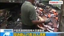 Çin'de Katliam Gibi Trafik Kazası Ölü Sayısı 50'yi Aşabilir