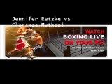 Live Boxing Jennifer Retzke vs Florence Muthoni 19 July 2014