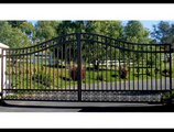 Residential and Commercial iron gates installation at highly competitive prices
