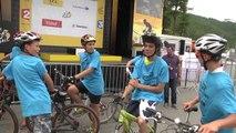 Hautes-Alpes: Les jeunes du Club de Vélo de Risoul ont ouverts la montée