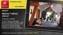 A vendre - maison - CABOURG (14390) - 7 pièces - 150m²