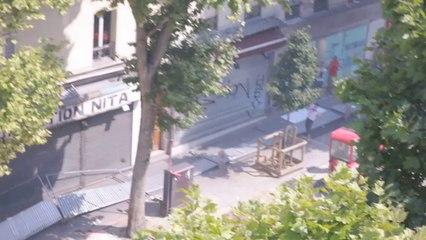 Émeutes Boulevard Barbès Paris 19 Juillet 2014