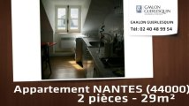Vente - Appartement - NANTES (44000)  - 30m²