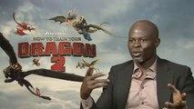 How To Train Your Dragon 2 Interview - Djimon Hounsou (2014) - DreamWorks Animation Sequel HD