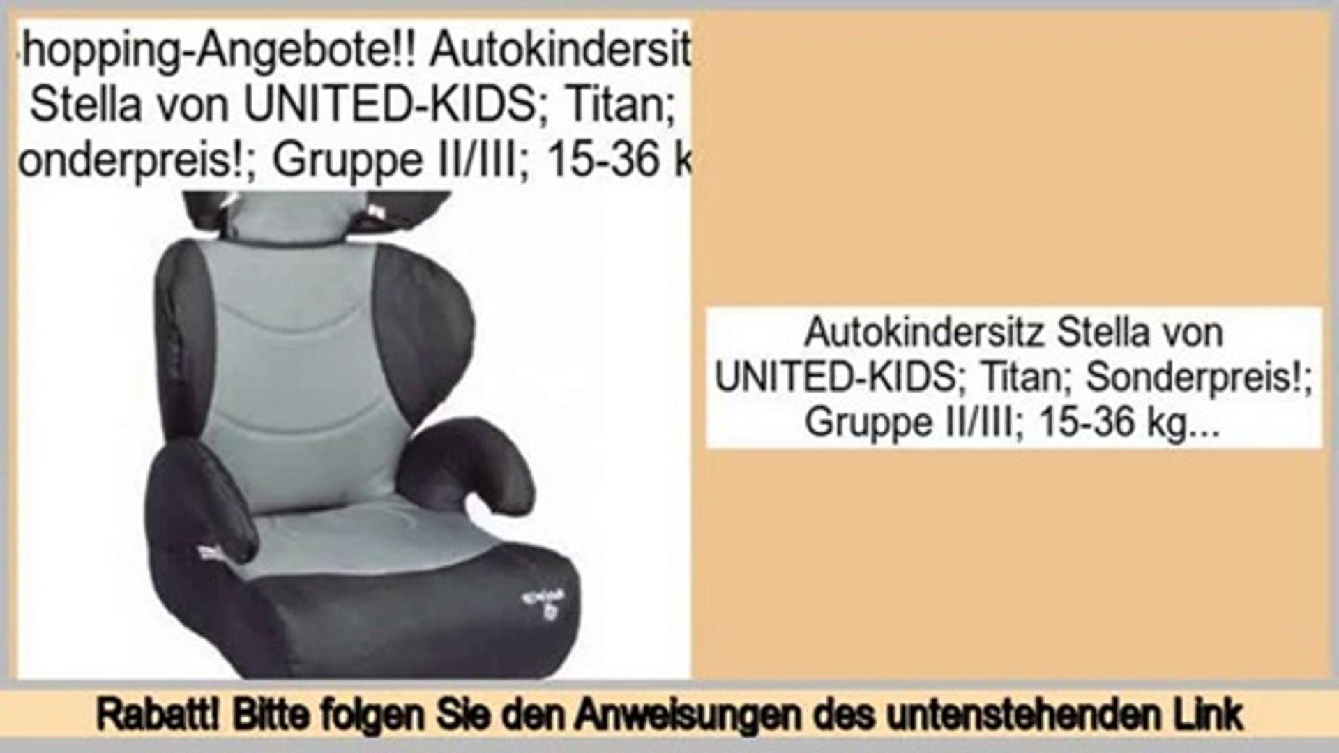 Autokindersitz United-Kids GALAXY Gruppe 0+//I 0-18 kg Creme Sonderangebot