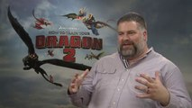How To Train Your Dragon 2 Interview - Dean DeBlois (2014) - DreamWorks Animation Sequel HD