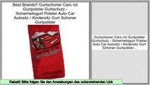 Big Deal Gurtschoner Cars rot Gurtpolster Gurtschutz - Sicherheitsgurt Polster Auto Car Autositz / Kindersitz Gurt Schoner Gurtpolster