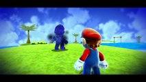 Super Mario Galaxy - Boucle océane - Étoile 4 : Devance ton double dans la boucle océane !