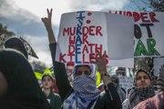 Protesters in Turkey slam Israeli war on Gaza