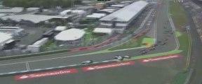 F1 2014 German GP - Start & Felipe Massa Crash