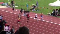 Finale 200 m Cadets