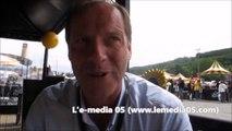 Christian Prudhomme, directeur du Tour de France, parle des Hautes-Alpes et du parcours 2015