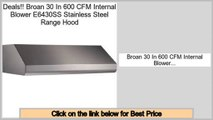 Broan HLB6 In-Line Blower for Range Hoods, 600-CFM Review