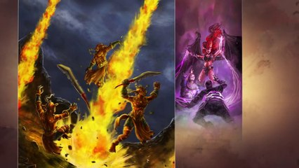 Launch Trailer UK de Might & Magic Duel of Champions - Forgotten Wars