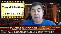 MLB Odds St Louis Cardinals vs. Los Angeles Dodgers Pick Prediction Preview 7-20-2014
