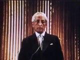 Krishnamurti - L'esprit humain peut-il se libérer totalement de la peur
