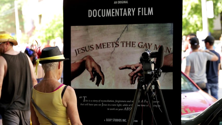 Jesus Meets The Gay Man  -  In Production Spot
